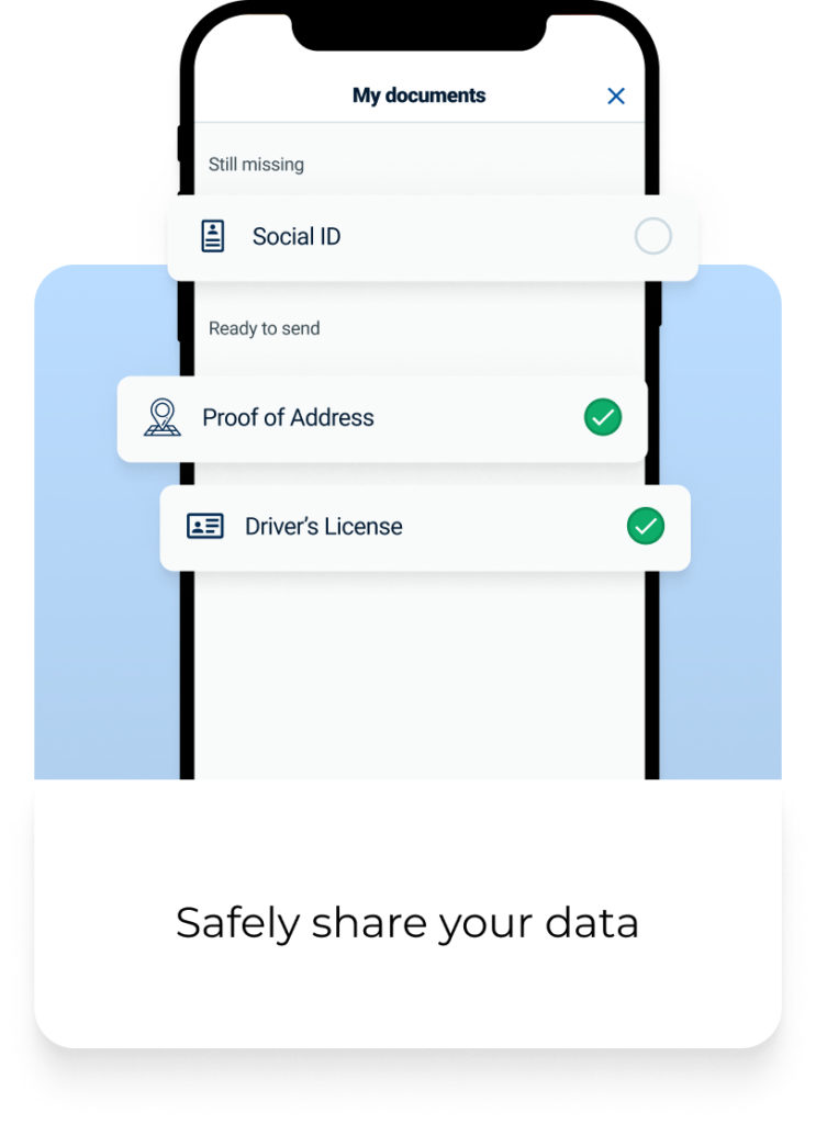 Safely share your data